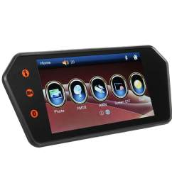 7 lcd car touch screen rear view backup mirror monitor 140 reverse camera [ 1200 x 1200 Pixel ]