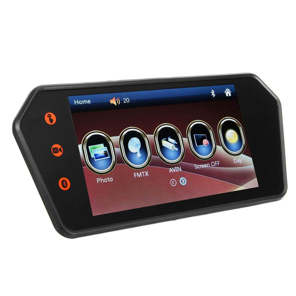 medium resolution of 7 lcd car touch screen rear view backup mirror monitor 140 reverse camera