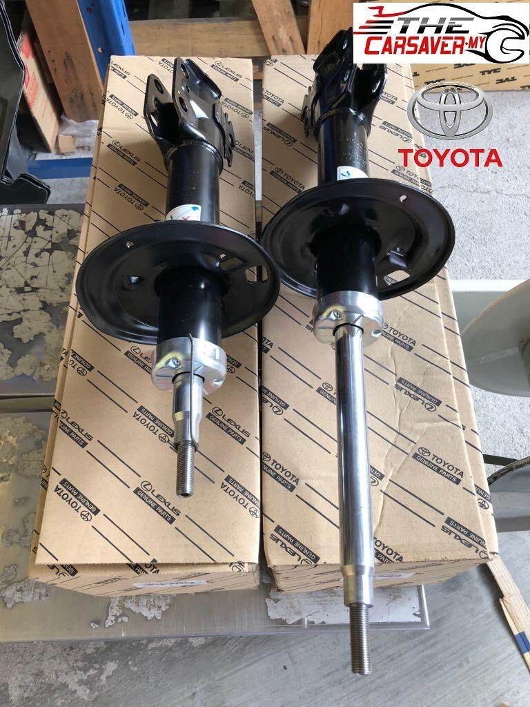 medium resolution of toyota vios ncp93 2007 2012 front absorber set left and right 48510 0d263 48520
