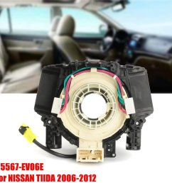 spiral cable clock spring subassy airbag for nissan tiida 2006 2012 25567 ev06e [ 1200 x 1200 Pixel ]