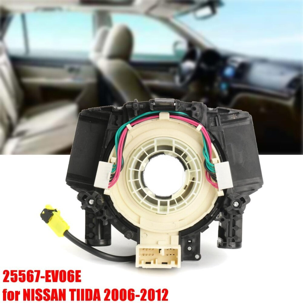 hight resolution of spiral cable clock spring subassy airbag for nissan tiida 2006 2012 25567 ev06e