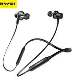 awei g20bl bluetooth earphone headphone dual driver headset wireless sport earphone bass sound auriculares inalambrico bluetooth [ 1000 x 1000 Pixel ]