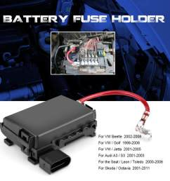 features 100 brand new aftermarket battery fuse holder  [ 1001 x 1001 Pixel ]