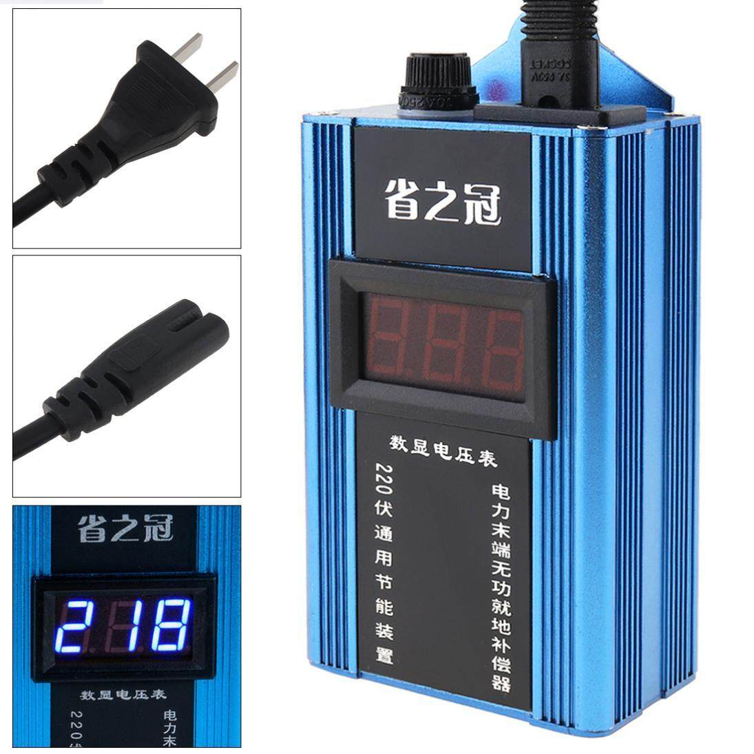 hight resolution of 80kw 110v 220v smart power saver household meter electricity saving box with electronic screen display