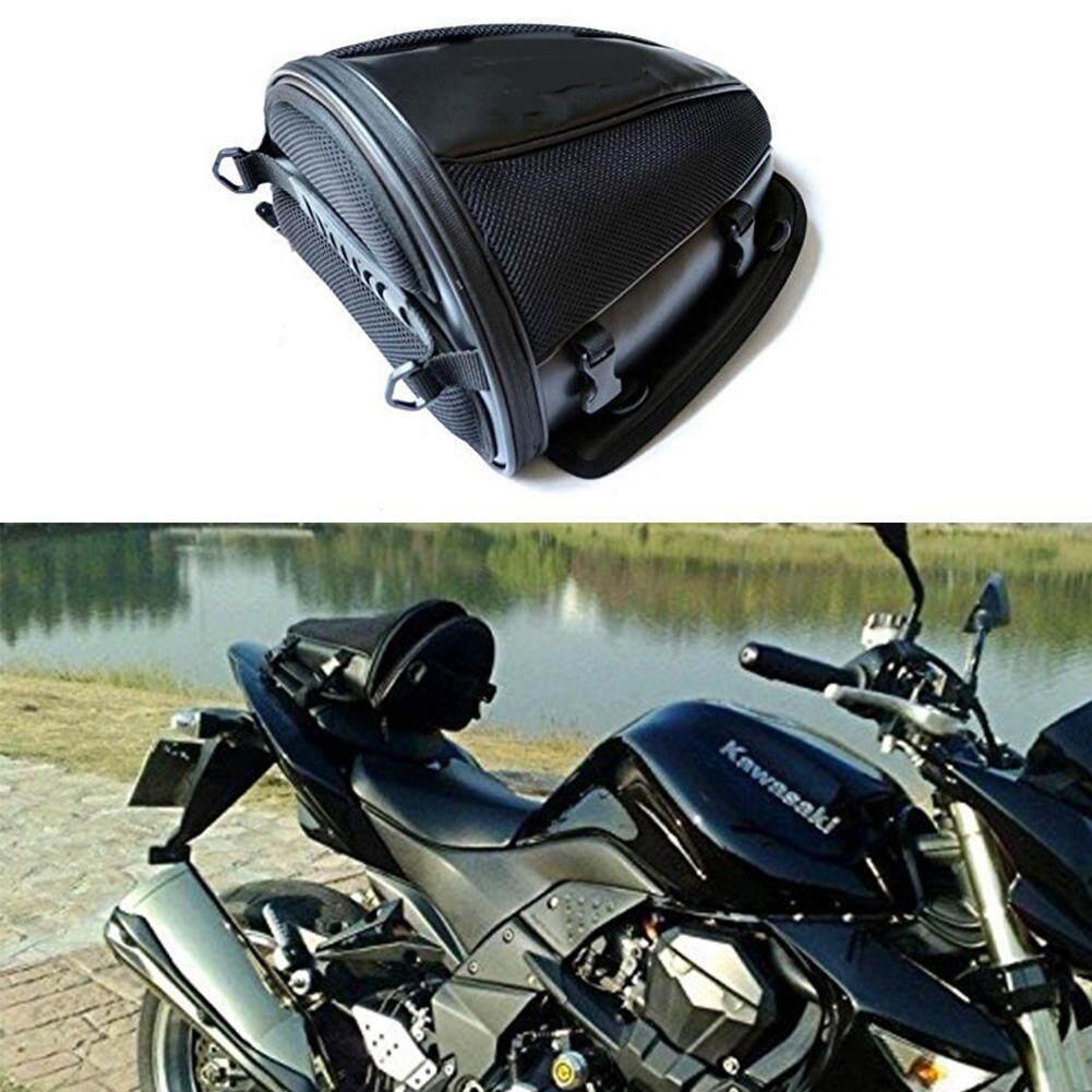 hight resolution of motorcycle rear seat bag waterproof luggage tail bags helmet saddlebag
