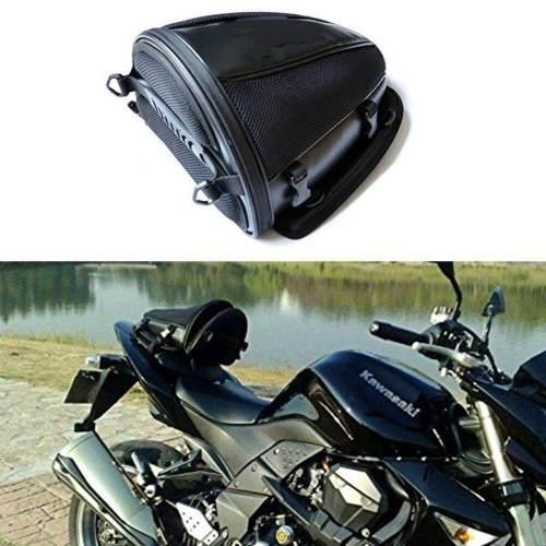 small resolution of motorcycle rear seat bag waterproof luggage tail bags helmet saddlebag