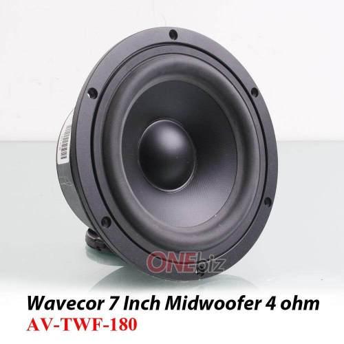 small resolution of wavecor 7 inch midwoofer speaker 4 ohm av twf 180