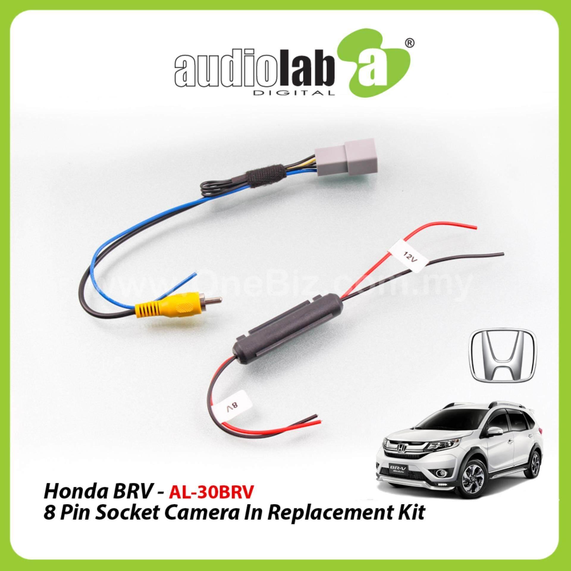 hight resolution of audiolab honda brv 8pin socket camera in replacement kit al 30brv