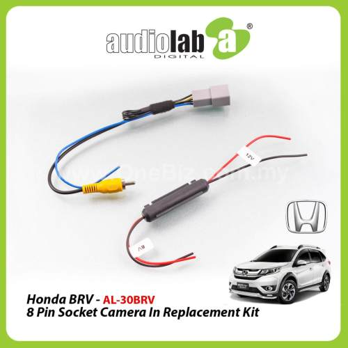 small resolution of audiolab honda brv 8pin socket camera in replacement kit al 30brv