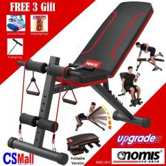 Gym Bench Press Chair Party Covers For Sale Near Me Weight Benches Buy At Best Price In Malaysia Www 9 Csmall Nms Nomis Upgraded Version Fitness Sit Up Dumbbell Lifting 6 Pack Workout