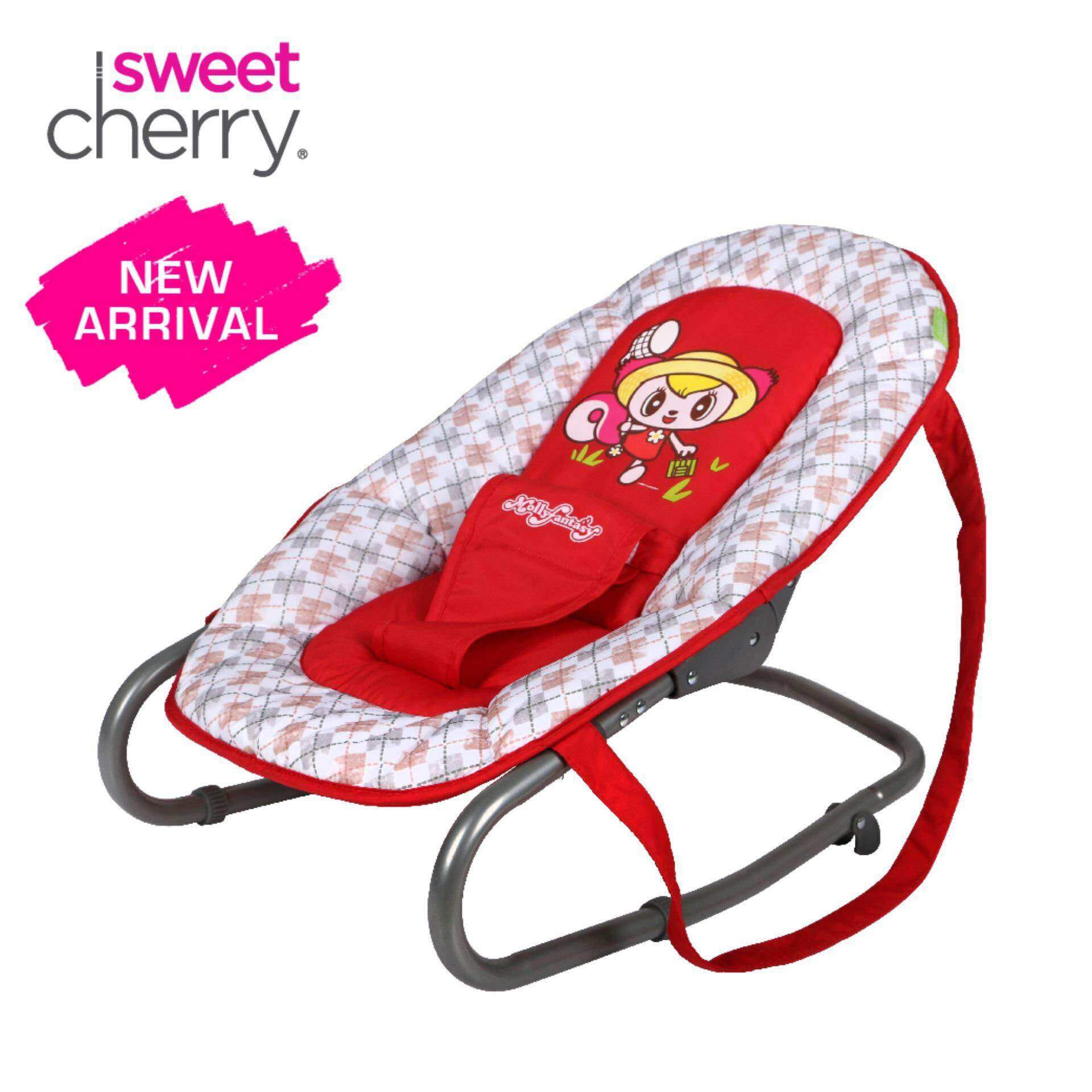 swing chair penang that folds out into a bed swings jumpers bouncers buy at best sweet cherry mf03 molly fantasy bouncer red