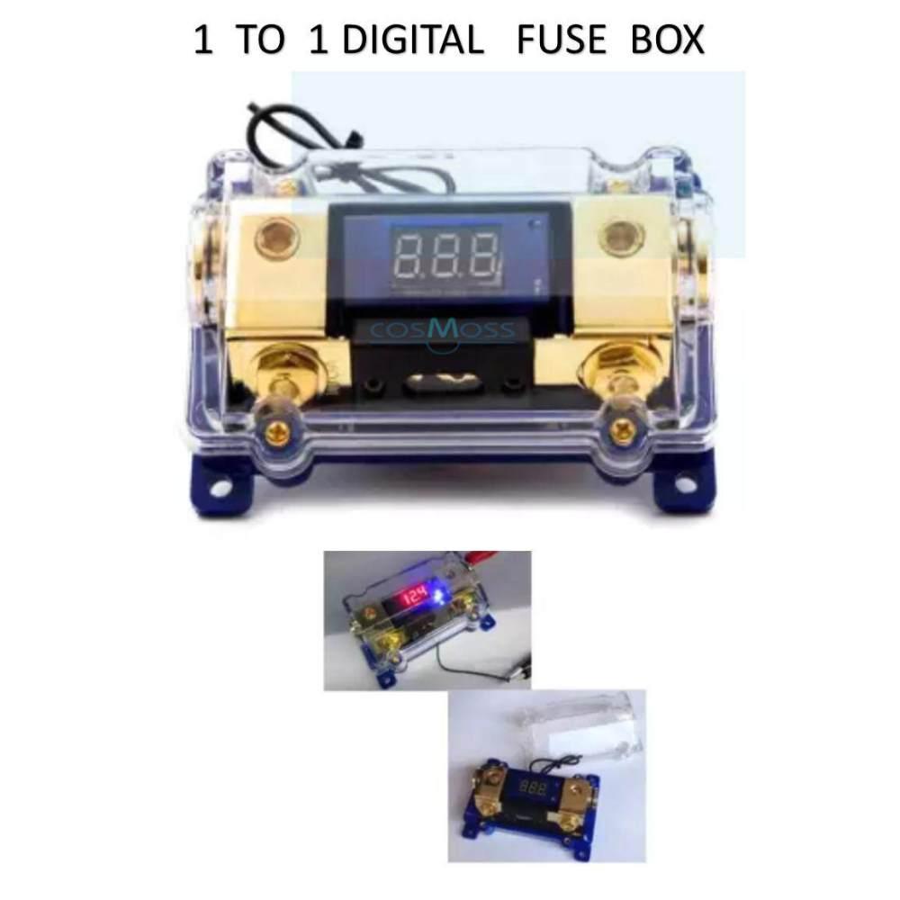 medium resolution of high performance circuit digital display 1 to 1 fuse box holder car audio system