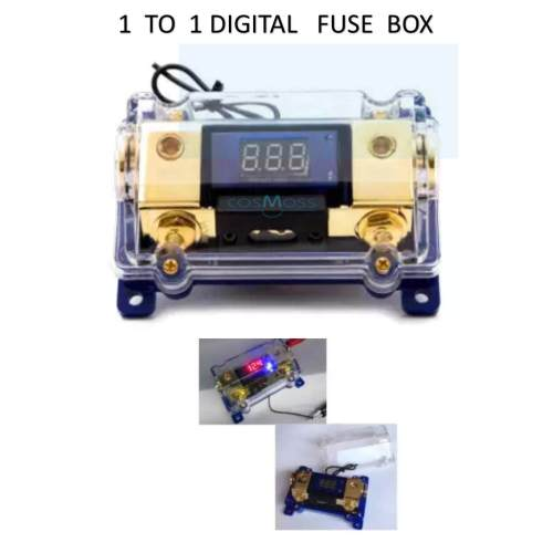 small resolution of high performance circuit digital display 1 to 1 fuse box holder car audio system