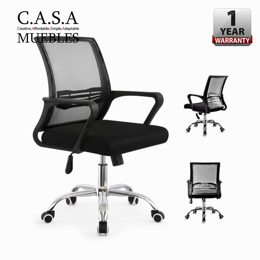 office chair malaysia fishing kayak home chairs buy at best price casa muebles swanky medium swivel