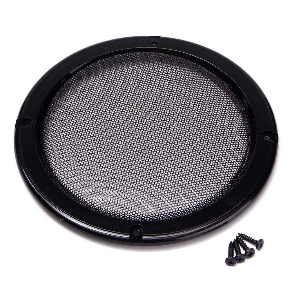 medium resolution of 6 5 inch protective car speaker amplifier cover net decorative circle metal mesh