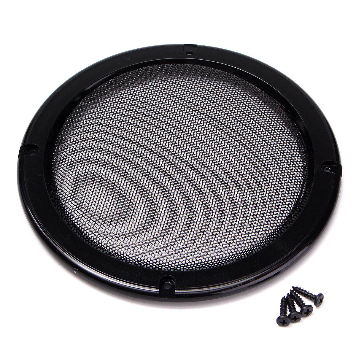 hight resolution of 6 5 inch protective car speaker amplifier cover net decorative circle metal mesh