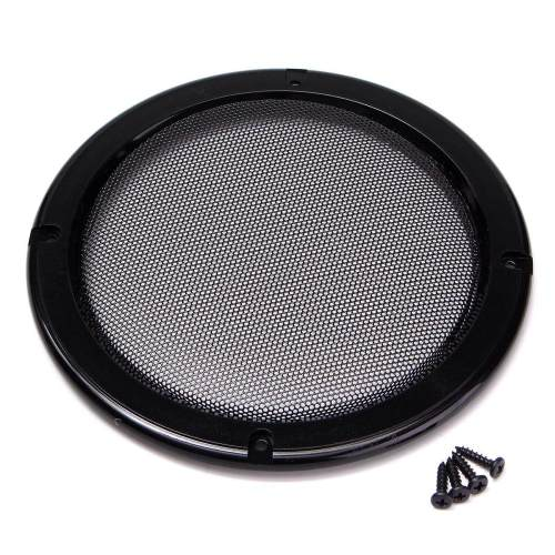 small resolution of 6 5 inch protective car speaker amplifier cover net decorative circle metal mesh