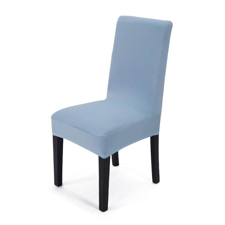 banquet chair covers malaysia guitar with back home sofa slips buy at best high elastic and universal dining cover sky blue 4pcs