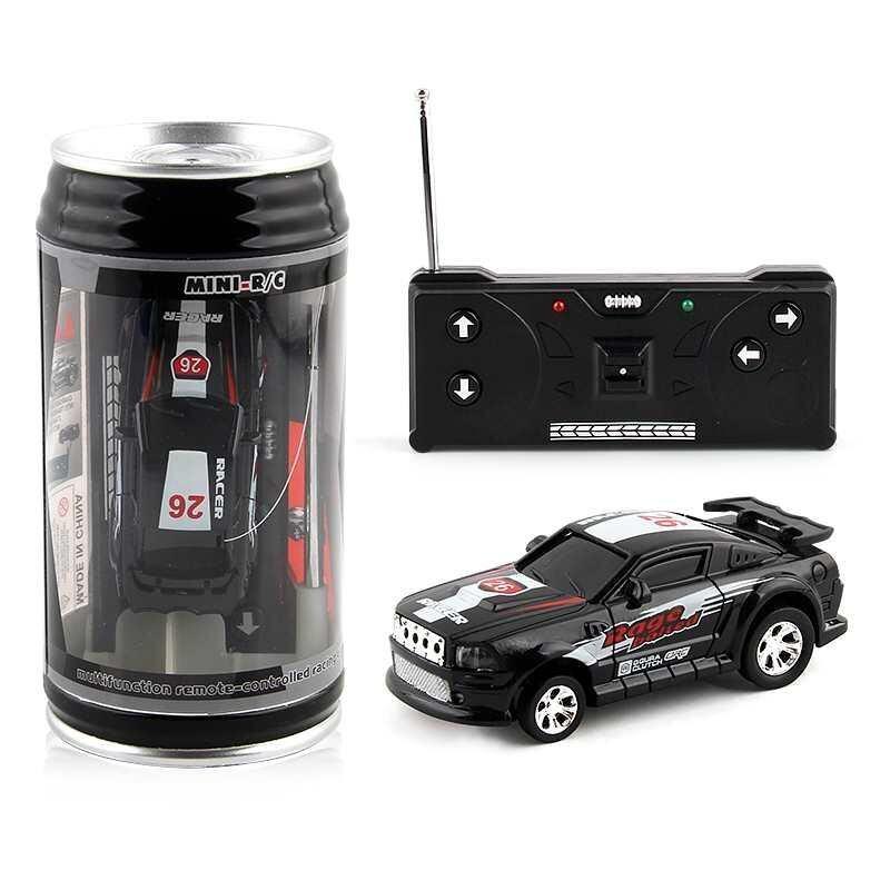 Betes 1pc Multi Color Kids Toys Portable Racing Car Creative E Can Mini Rc