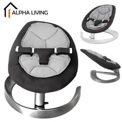 Swing Chair Penang Farmhouse Table With Bench And Chairs Swings Jumpers Bouncers Buy At Best Alpha Living Baby Cradle Leaf Shape Rocking Blue Black Bay0141