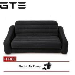 Intex Pull Out Sofa Review Best Leather Cleaner And Conditioner Inflatable Bed (free Electric Pump ...