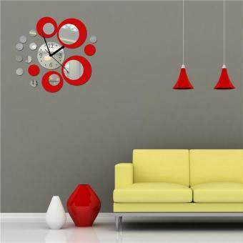 Luxurious Wall Clocks Living Room Decorative Modern Style White