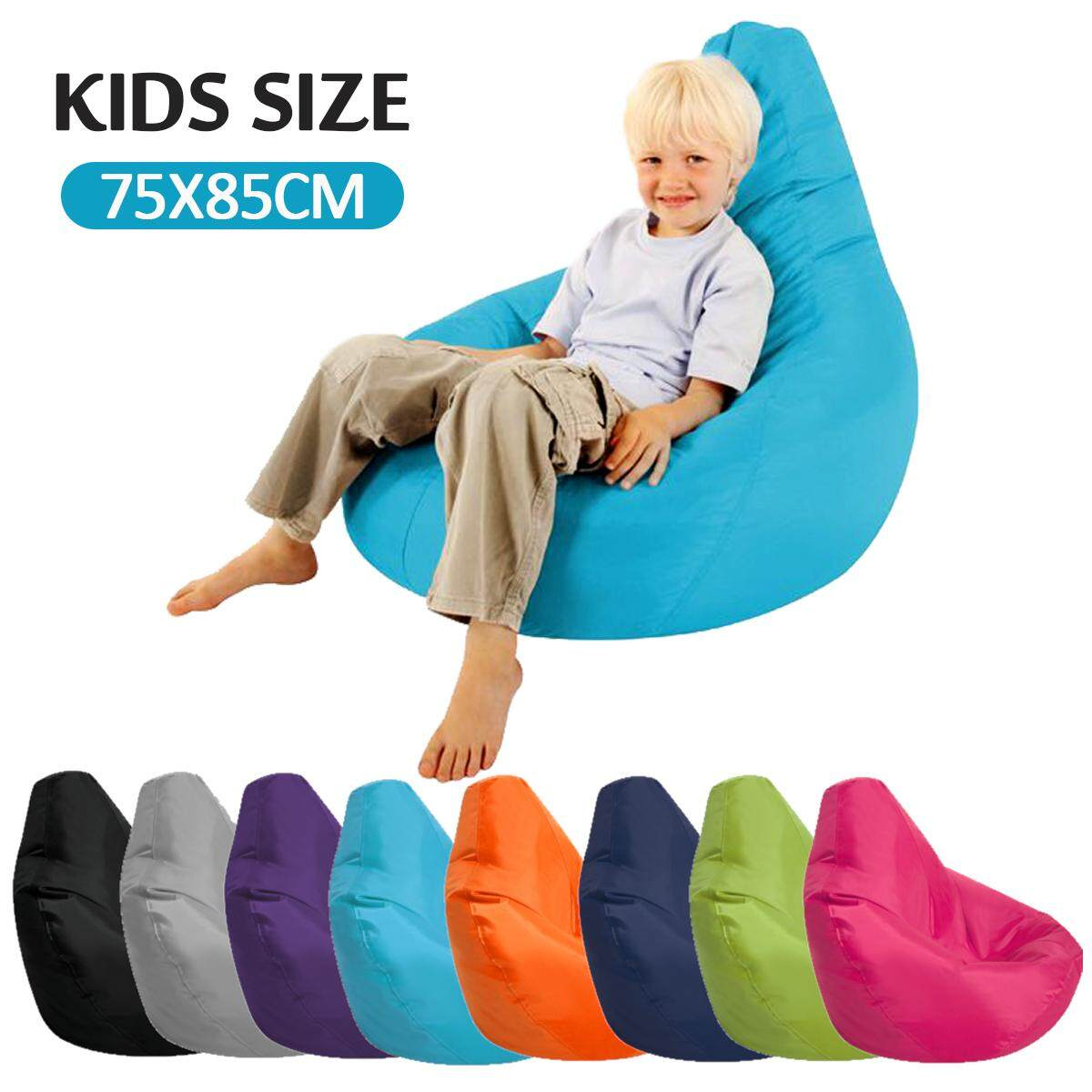 Adult Size Bean Bag Chair Kids Bean Bag Cover Chair Seat Gamer Recliner Waterproof Outdoor Indoor Garden Bean Bag Chair Indoor Outdoor Gamer Beanbag Seat Adult And Kids Sizes