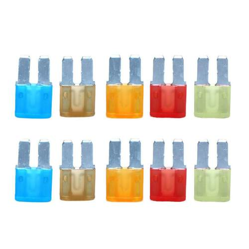 small resolution of product details of dovewill 10pcs 5a 7 5a 10a 15a 20a micro 2 blade atr fuses for car truck