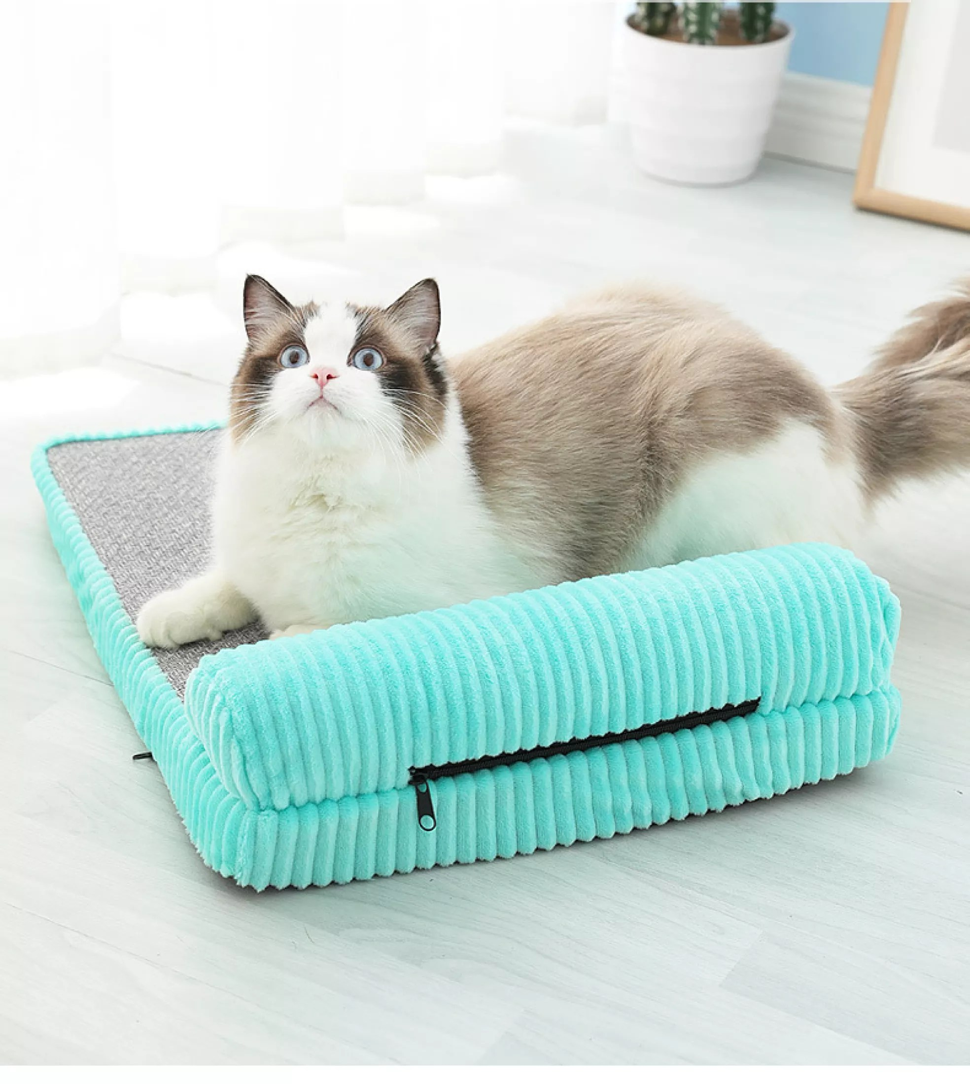 pet dog bed l shaped lounge cotton sofa with pillow pet bed for dogs cats warm universal soft cushion couch bed small medium large size cozy puppy mat