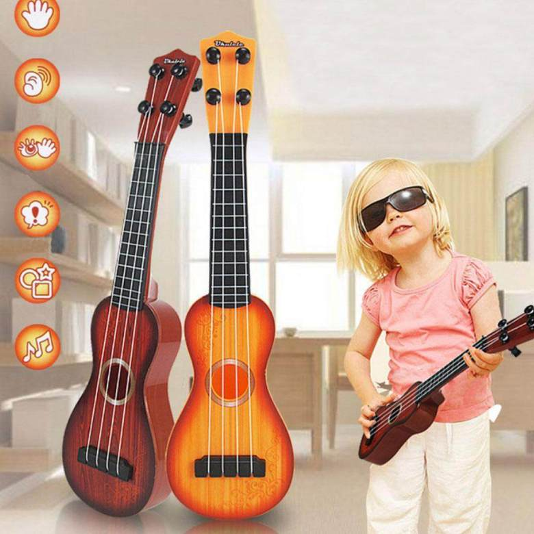 bumblebaa kids ukulele is great gift for children and beginners, this  musical instrument is a great guitar for kids or grownups who want to learn  to
