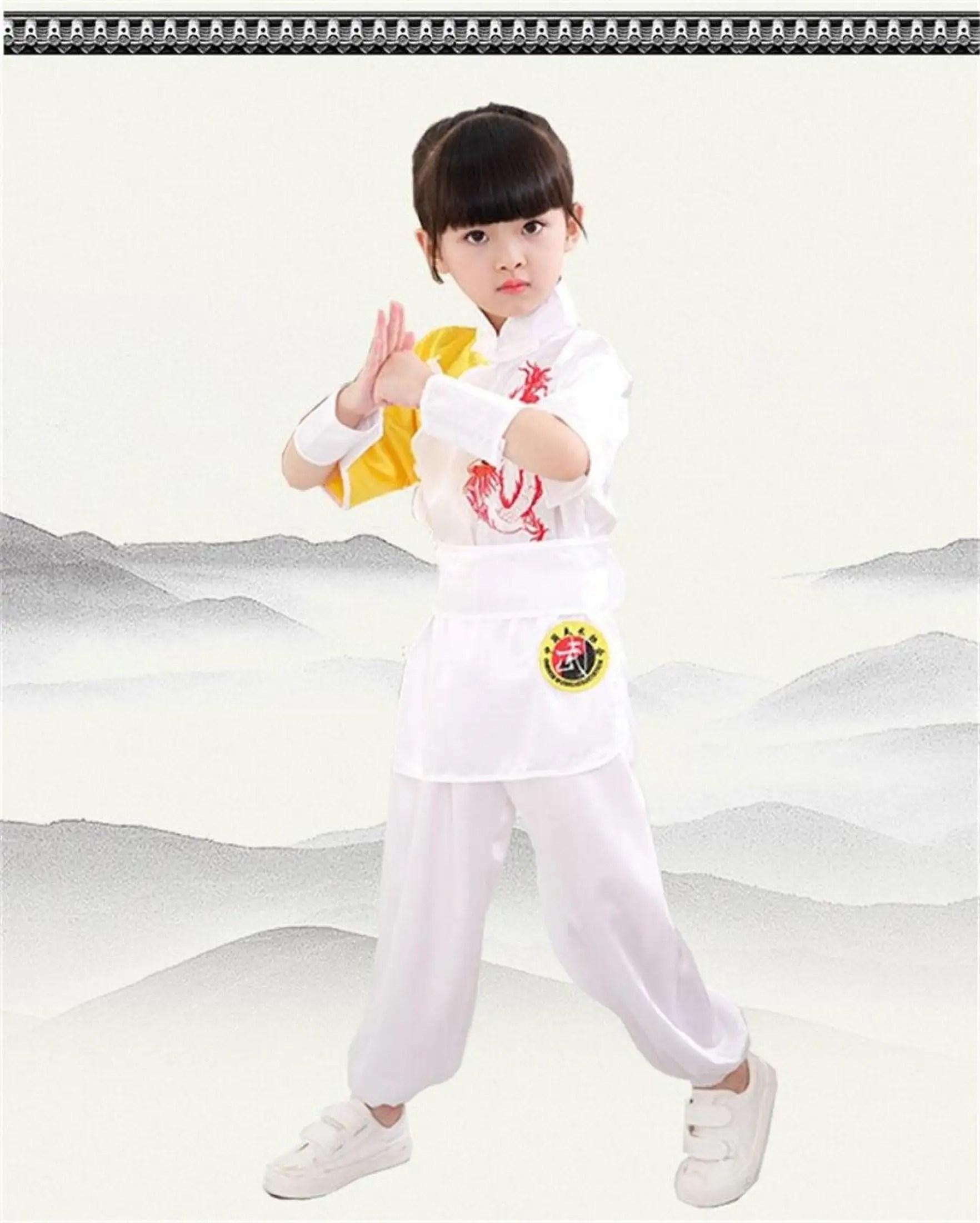Beladiri Cina : beladiri, Pakaian, Tradisional, Anak-anak, Kungfu, Wushu, Seragam, Beladiri, Panggung, Pertunjukan, Kostum, Lazada, Indonesia