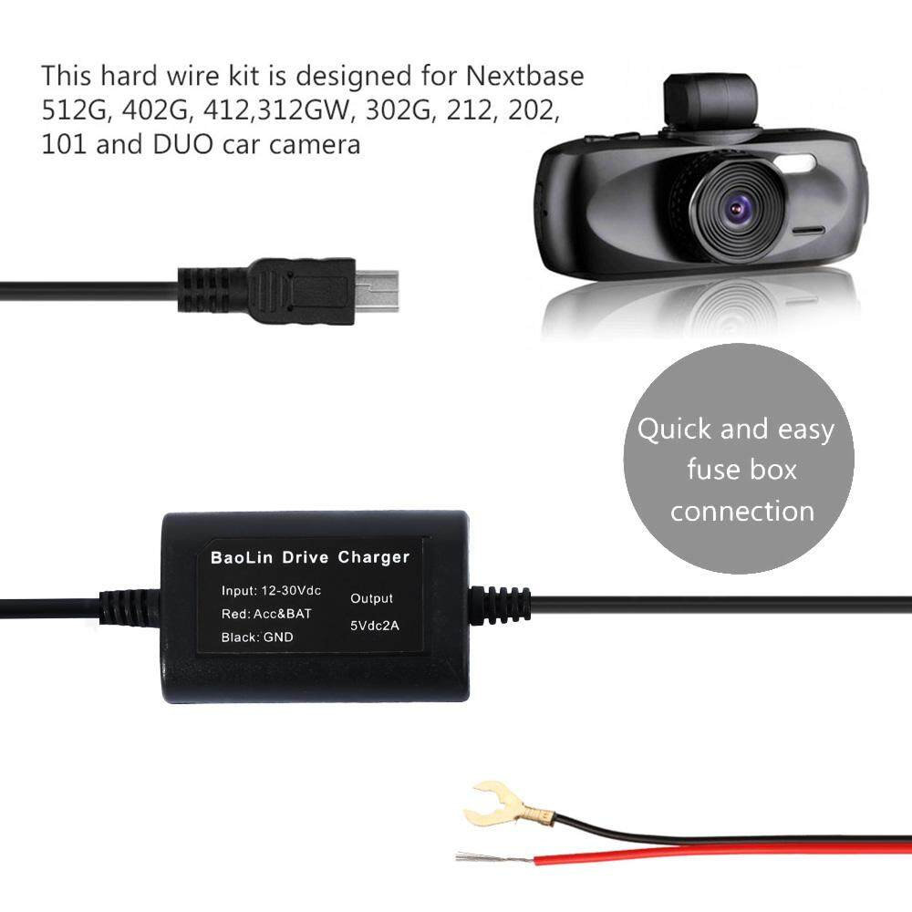 hight resolution of product details of usb universal hard wire fuse box car recorder dash cam hard wire kit micro