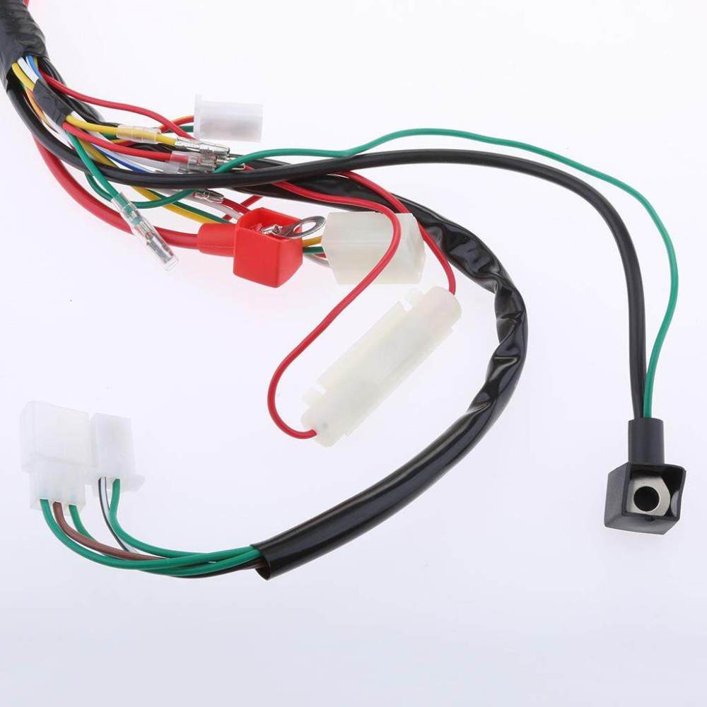 medium resolution of 1 piece electric wiring harness loom kit
