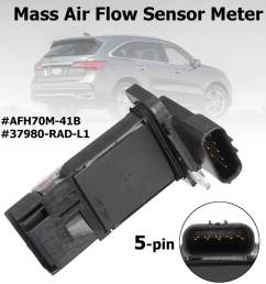afh70m 41b mass air flow sensor meter maf for acura mdx rlx honda accord [ 1200 x 1200 Pixel ]