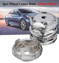 4pcs set 63mm 68mm wheel center hub caps covers [ 1200 x 1200 Pixel ]