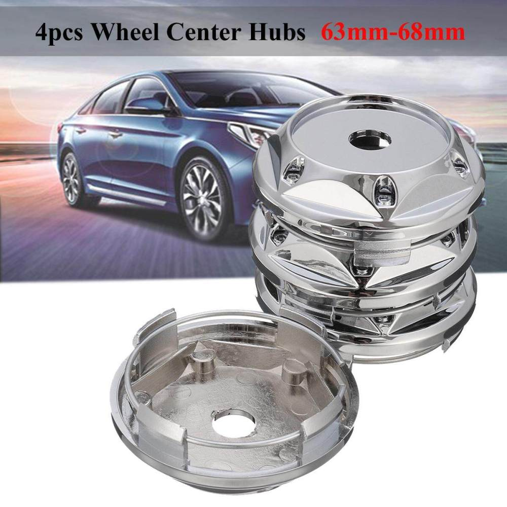 medium resolution of 4pcs set 63mm 68mm wheel center hub caps covers