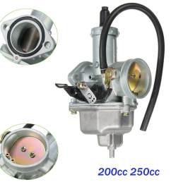 air filter carburettor carburetor 30mm for pz30 200cc 250cc dirt bike quad atv [ 1200 x 1200 Pixel ]