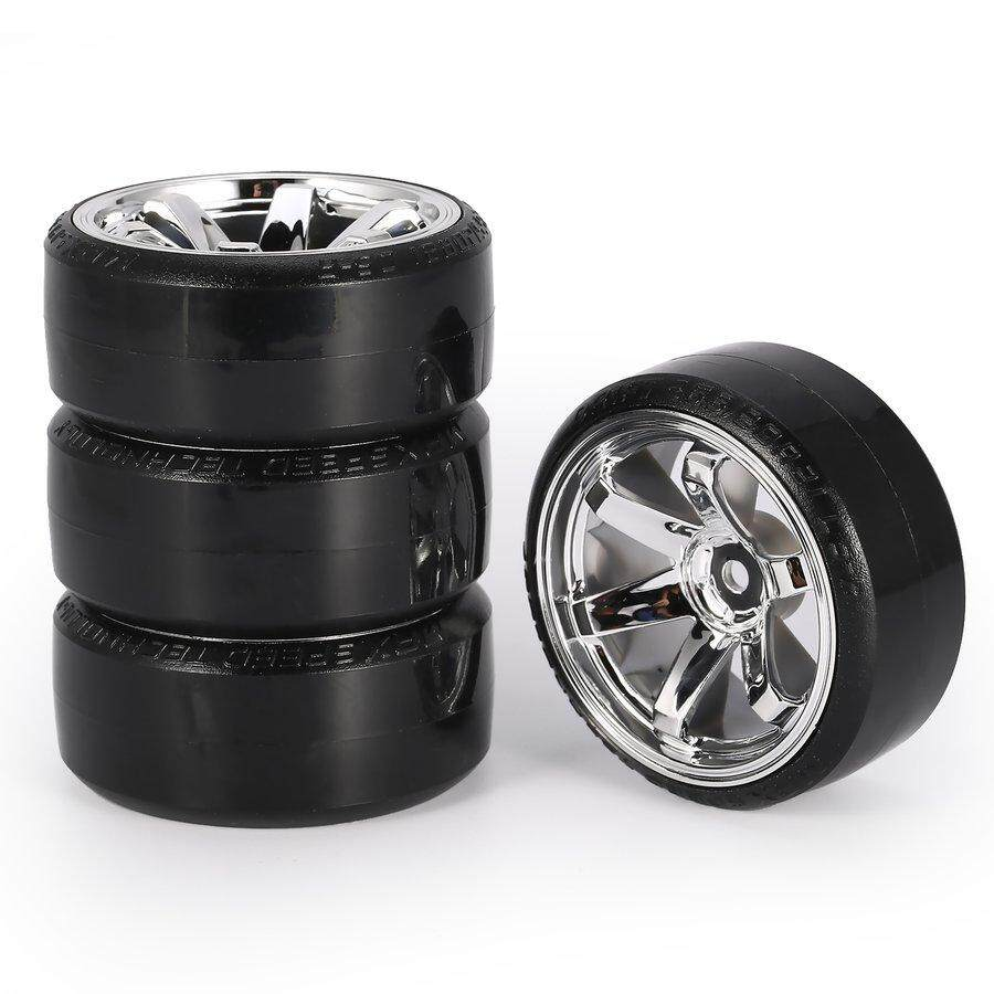 hight resolution of pkpns 4pcs rc drift tires set for 1 10 traxxas hsp tamiya on road