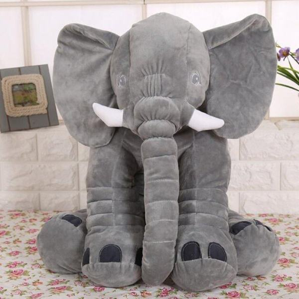 Gte 60cm Giant Stuffed Elephant Toy Pillow Cute Soft Plush