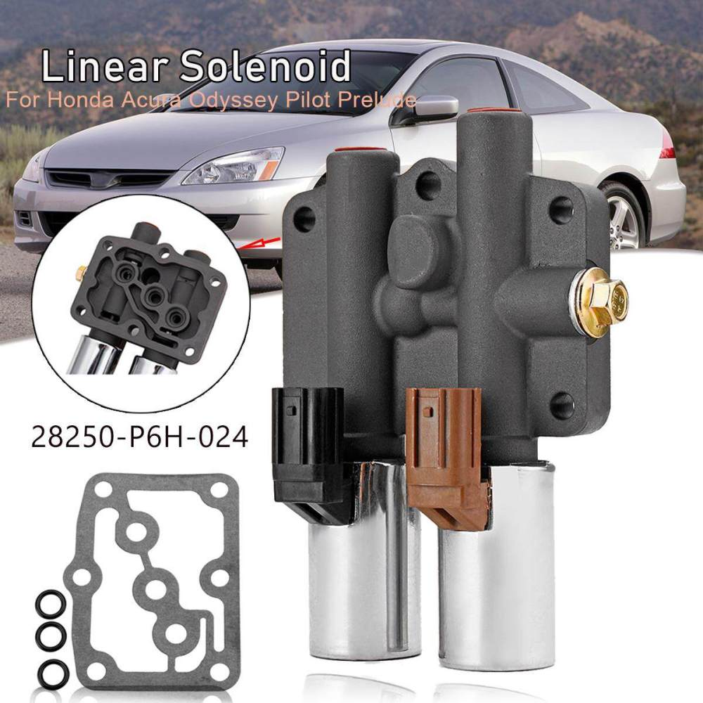 medium resolution of 28250 p6h 024 transmission dual linear shift solenoid gasket for honda accord
