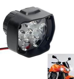 scooters headlight spotlight work light motorcycle accessories motor headlamp intl [ 1000 x 1000 Pixel ]