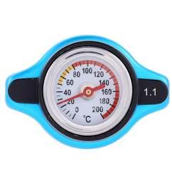 0 9 1 1 1 3 universal car auto radiator cap cover water temperature meter thermostatic gauge [ 1001 x 1001 Pixel ]