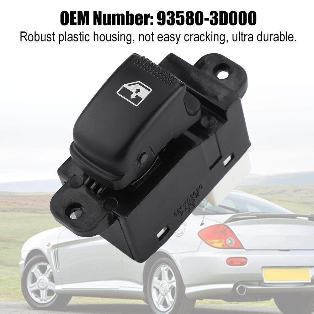 hight resolution of single power master window control switch button for hyundai 01 05 93580 3d000