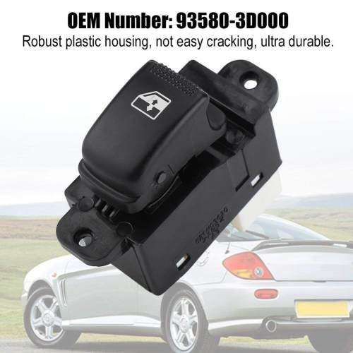 small resolution of single power master window control switch button for hyundai 01 05 93580 3d000