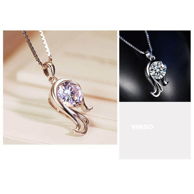 Cenita Fast delivery Exquisite Constellation Type Shinny Rhinestone Diamond Pendant Jewelry Accessory - intl