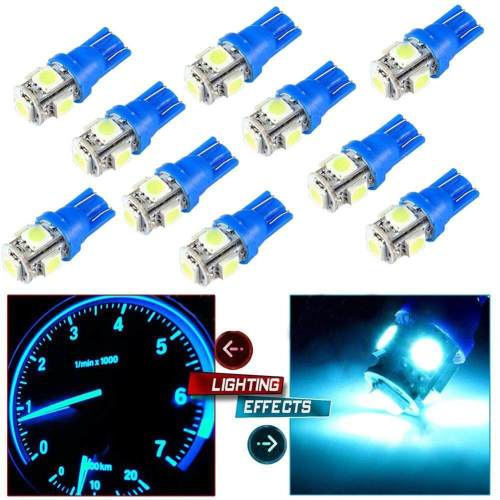 small resolution of blackhorse 10pcs set t10 5smd 5050 car led wedge light plate license 194 2825 501
