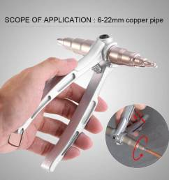 shanyu stainless steel manual copper tube expander air conditioner maintain repair hand expanding tool intl [ 1000 x 1000 Pixel ]