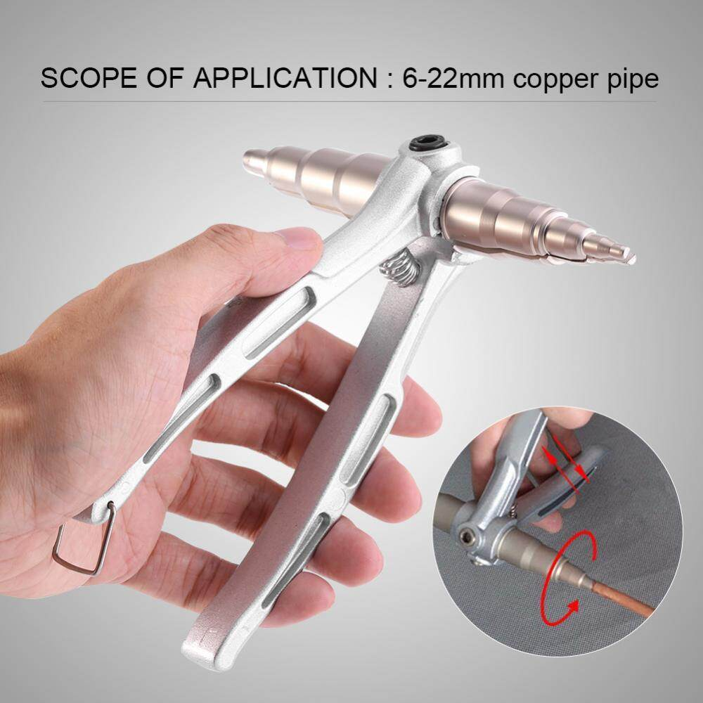 hight resolution of shanyu stainless steel manual copper tube expander air conditioner maintain repair hand expanding tool intl
