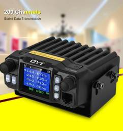 stable frequency car walkie talkie 200 channels 5 50km distance mobile radio cb transceiver [ 1000 x 1000 Pixel ]