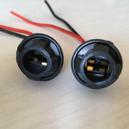 small resolution of cable bulb holder connector pre wired base wire harness plug t10 194 harness